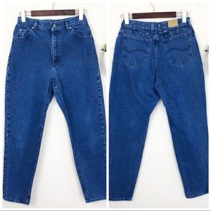 •LEE• Vintage 90s High Rise Tapered Leg Mom Jeans